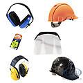 Helme und Gehörschutz
